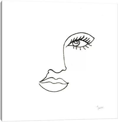Vogue Look I Canvas Art Print