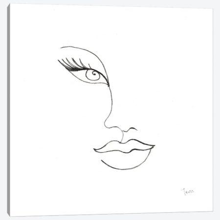Vogue Look II Canvas Print #TAV231} by Tava Studios Canvas Art