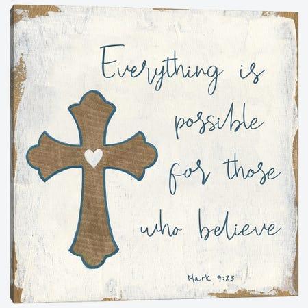 Everything is Possible Canvas Print #TAV234} by Tava Studios Art Print