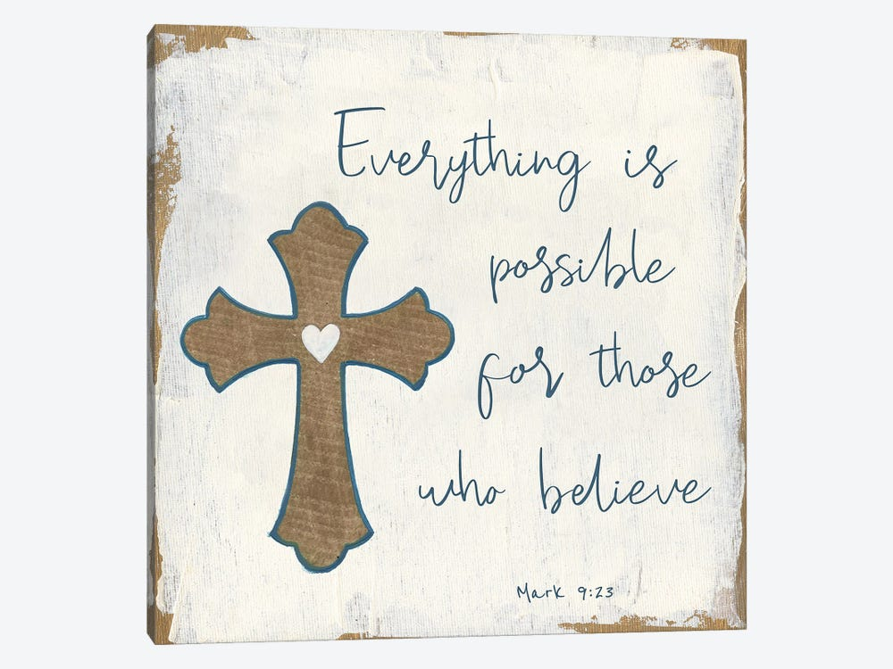 Everything is Possible by Tava Studios 1-piece Canvas Print