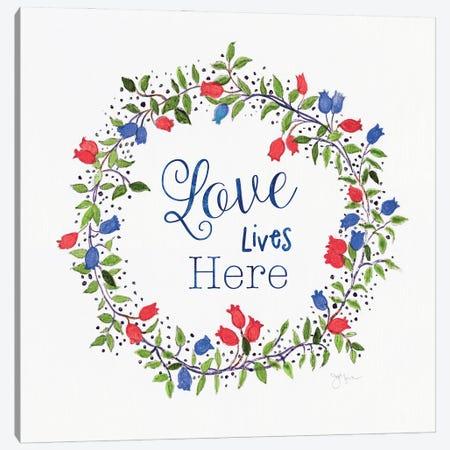Americana Summer Love Canvas Print #TAV237} by Tava Studios Canvas Art Print