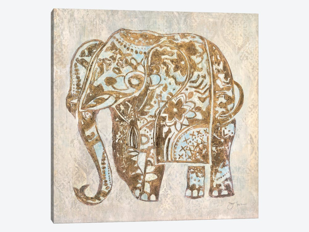 Boho Elephant by Tava Studios 1-piece Canvas Art