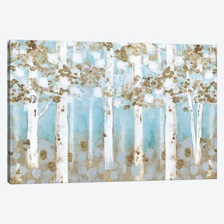 Golden Birch Grove Canvas Print #TAV243} by Tava Studios Art Print