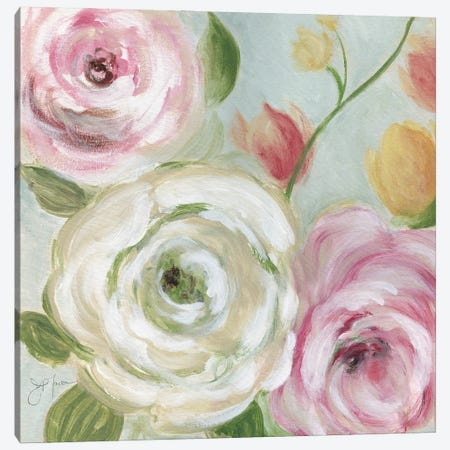 Rose Garden Canvas Print #TAV268} by Tava Studios Canvas Print
