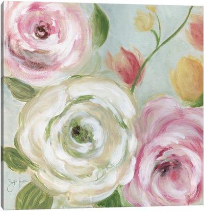 Rose Garden Canvas Art Print