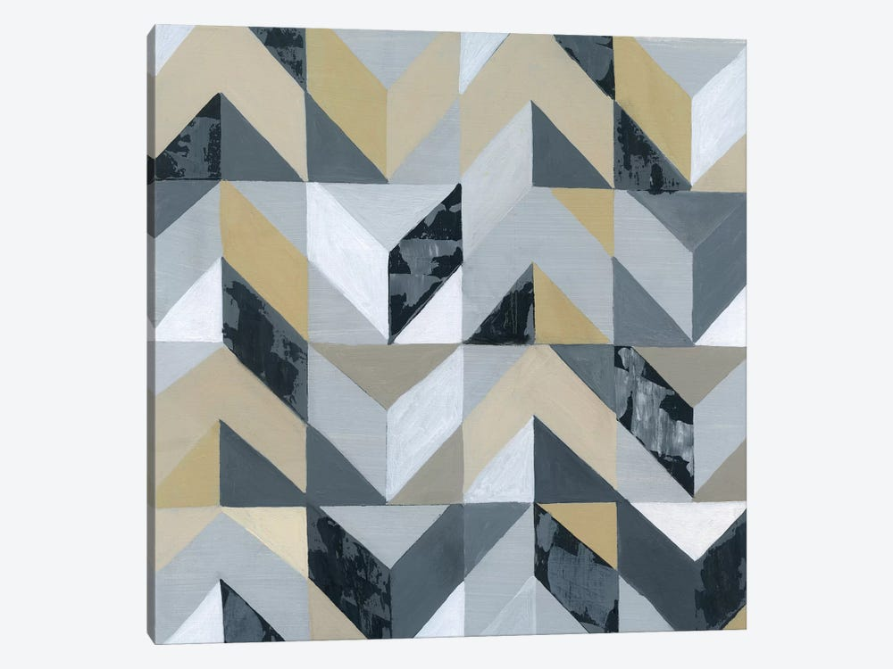 Geometric I by Tava Studios 1-piece Canvas Print
