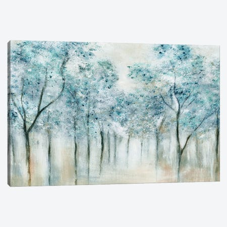 Spring Blue Canvas Print #TAV275} by Tava Studios Art Print