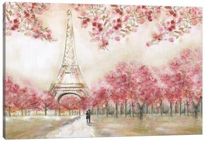 Spring In Paris Canvas Art Print