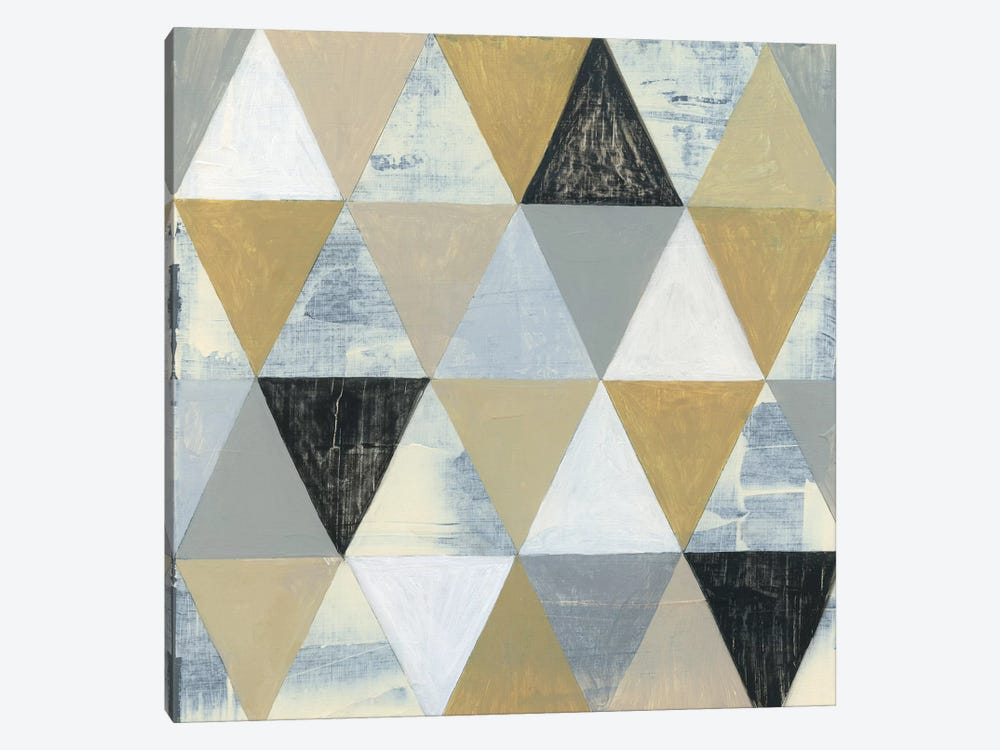 Geometric II by Tava Studios 1-piece Canvas Wall Art