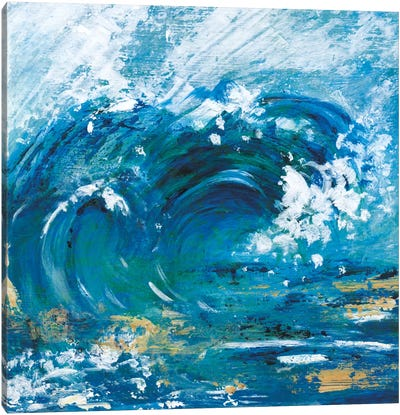 Big Surf II Canvas Art Print
