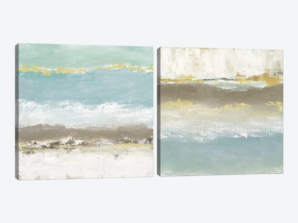 Peaceful Reverie Diptych by Tava Studios 2-piece Canvas Wall Art