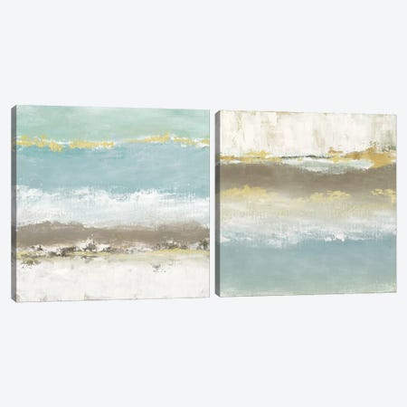 Peaceful Reverie Diptych Canvas Print Set #TAV2HSET003} by Tava Studios Canvas Art Print