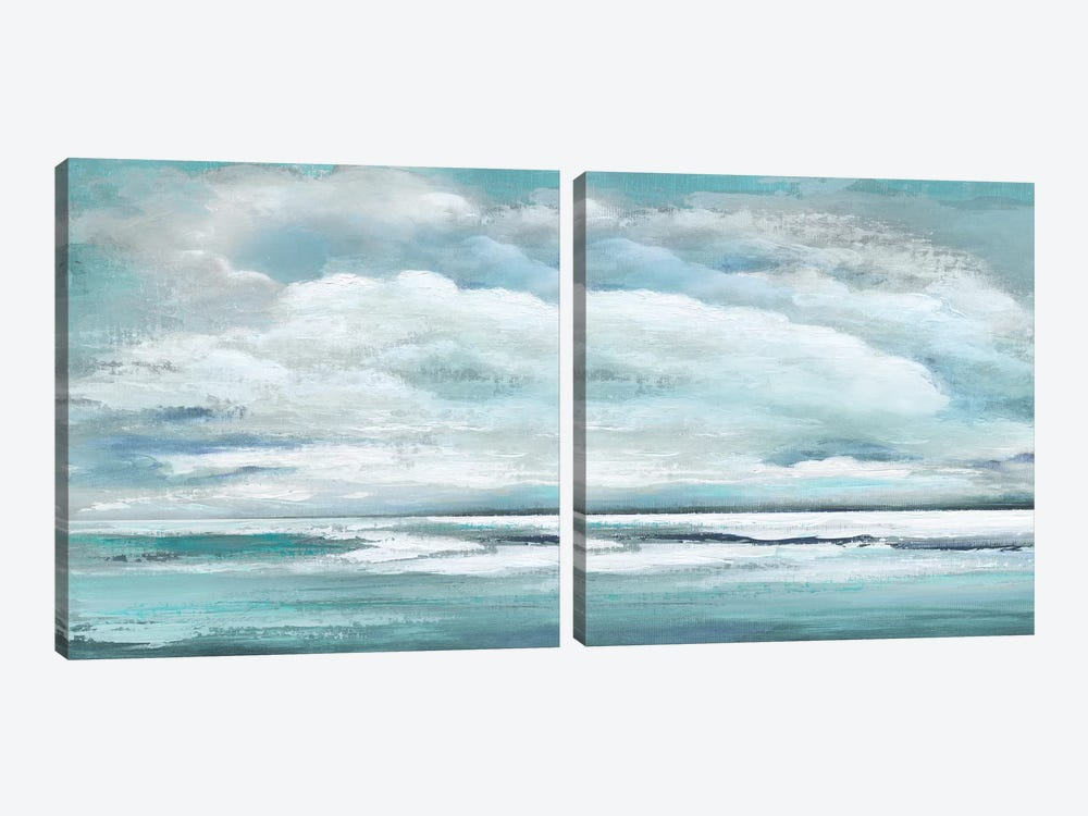 Billowing Clouds Diptych 2-piece Art Print