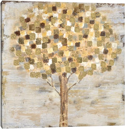 Golden Tree Canvas Art Print