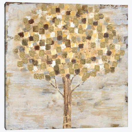 Golden Tree Canvas Print #TAV33} by Tava Studios Art Print