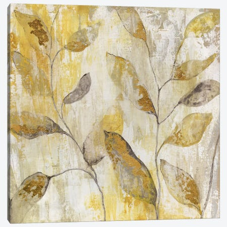 Golden Vine Canvas Print #TAV35} by Tava Studios Canvas Artwork