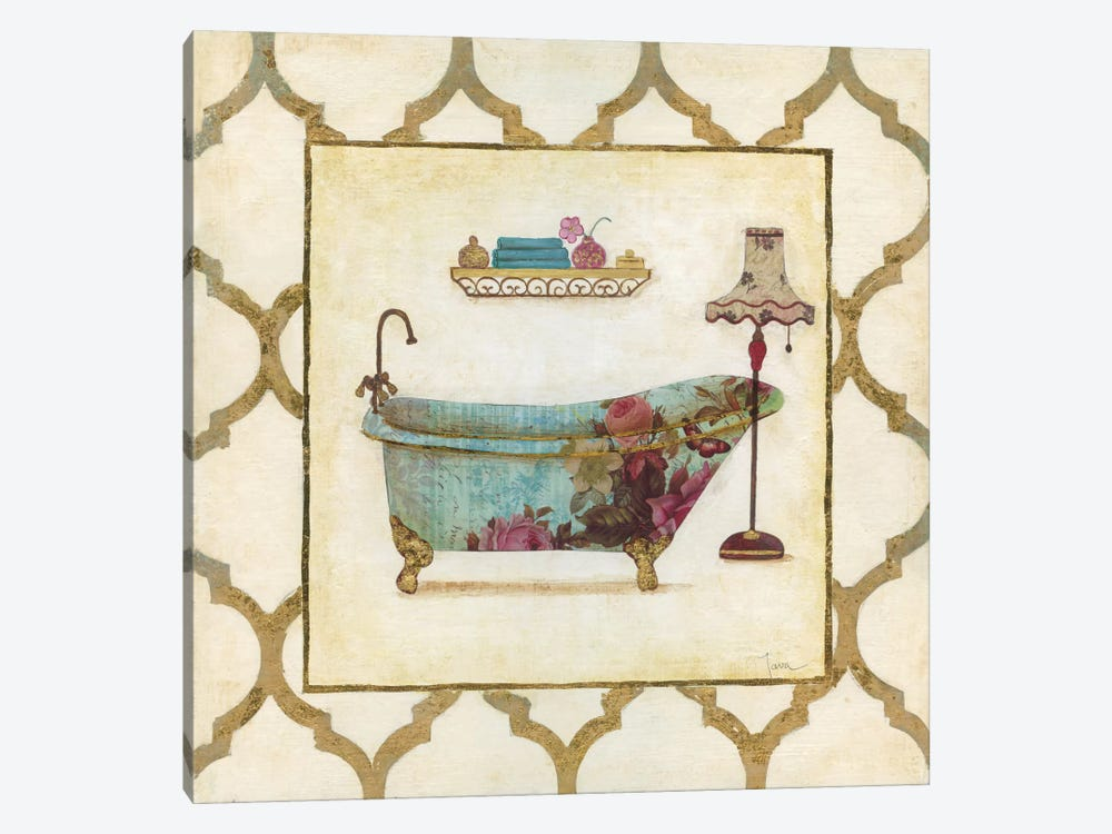 Botanical Bath I by Tava Studios 1-piece Canvas Print