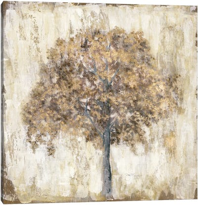 Venetian Gold Tree Canvas Art Print