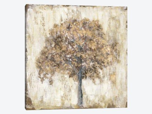 Venetian Gold Tree Canvas Print By Tava Studios Icanvas