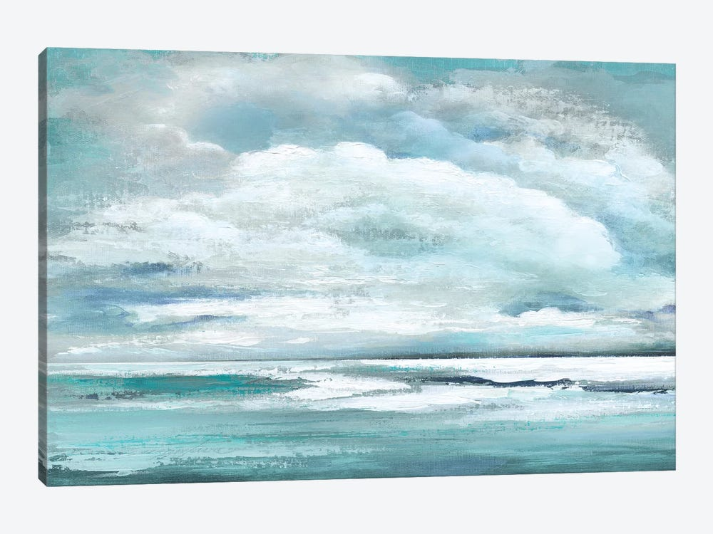 Billowing Clouds 1-piece Canvas Artwork