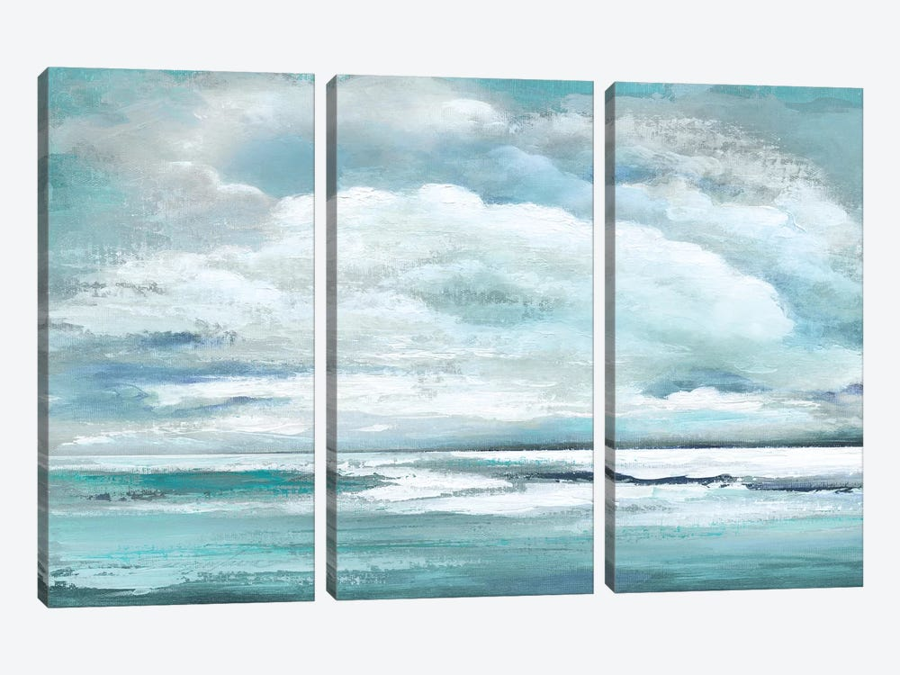 Billowing Clouds 3-piece Canvas Wall Art