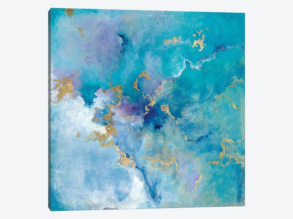 Golden Edge II by Tava Studios 1-piece Canvas Wall Art