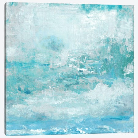 Aqua Skies Canvas Print #TAV64} by Tava Studios Canvas Art Print