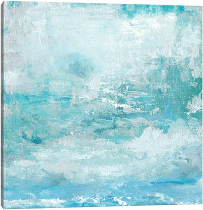 Aqua Skies Canvas Art Print
