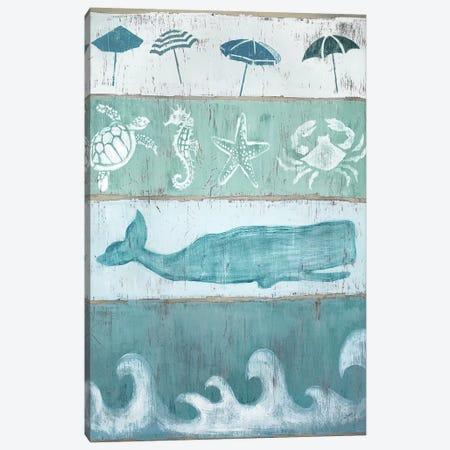 By The Sea Canvas Print #TAV65} by Tava Studios Canvas Print