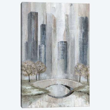Central Park Spring Canvas Print #TAV71} by Tava Studios Canvas Print