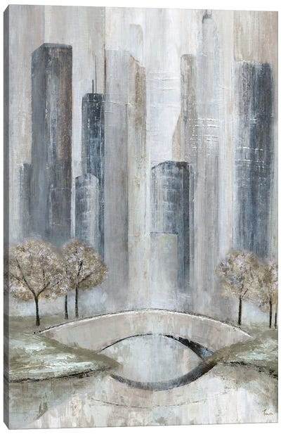 Central Park Spring Canvas Art Print