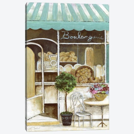 Boulangerie Canvas Print #TAV77} by Tava Studios Canvas Wall Art