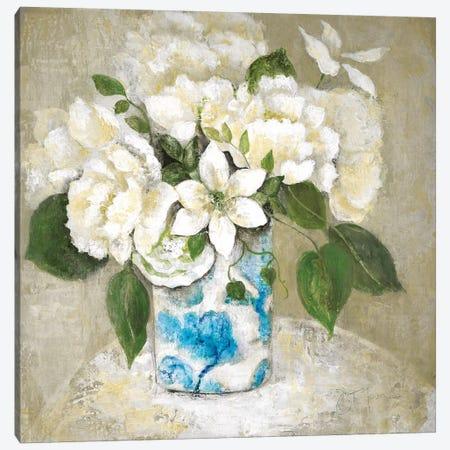 Doux Et Blanc Canvas Print #TAV78} by Tava Studios Canvas Art Print