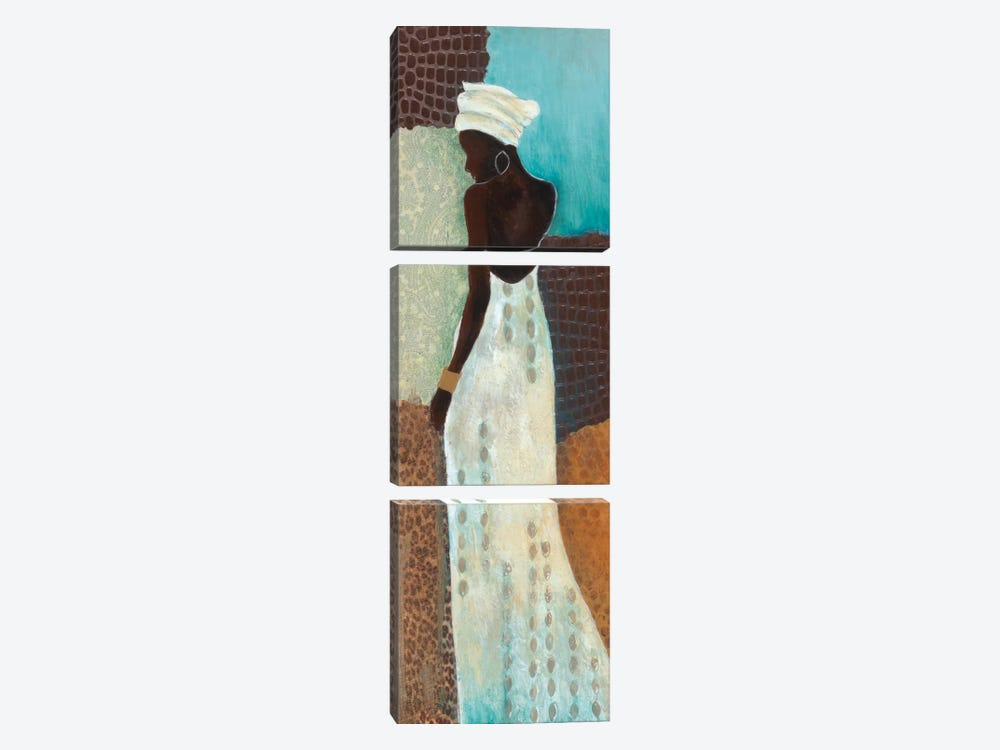 Dressed To Shine II by Tava Studios 3-piece Art Print