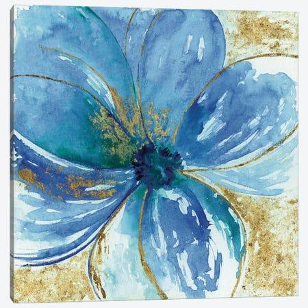 Nigella Blue Canvas Print #TAV81} by Tava Studios Canvas Artwork