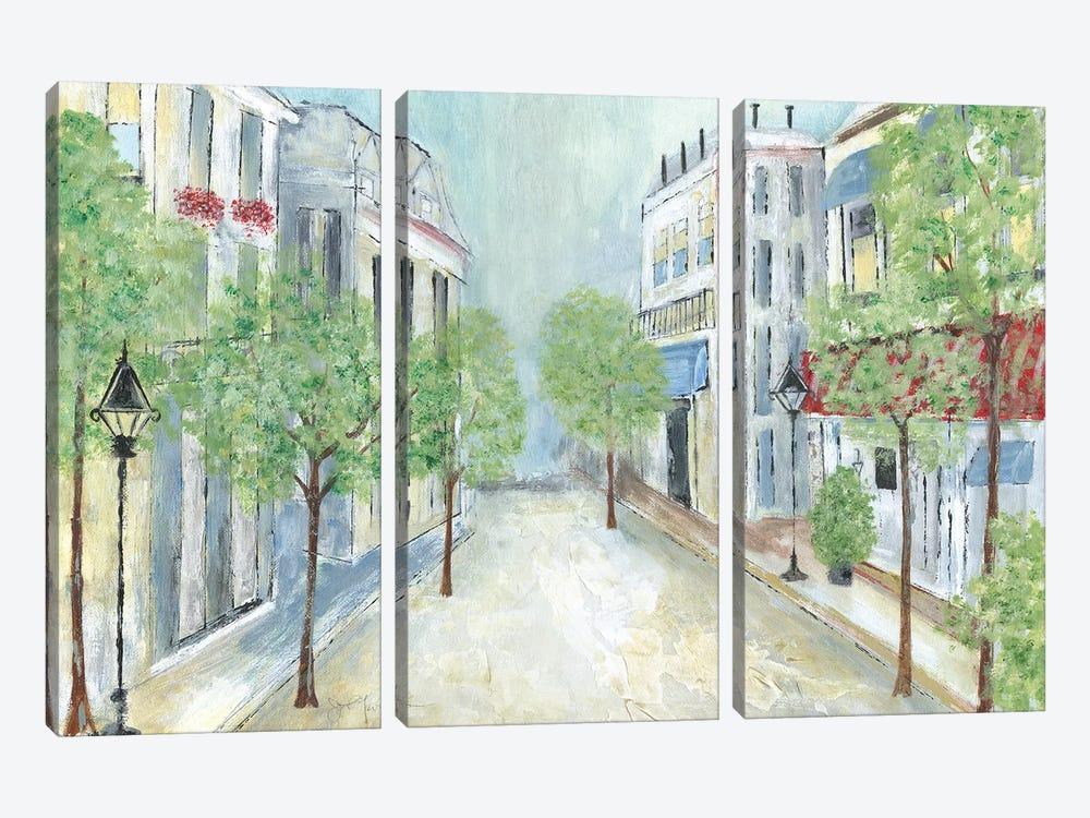 Springtime Stroll by Tava Studios 3-piece Canvas Artwork