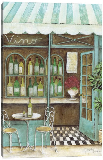 Vino Canvas Art Print