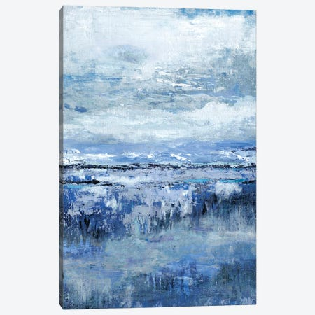 Coastal Indigo Canvas Print #TAV95} by Tava Studios Canvas Artwork
