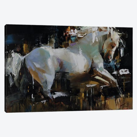 Discoverer Canvas Print #TAY108} by Tatyana Yabloed Canvas Wall Art