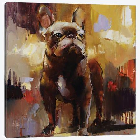 Gentleman Canvas Print #TAY117} by Tatyana Yabloed Canvas Art