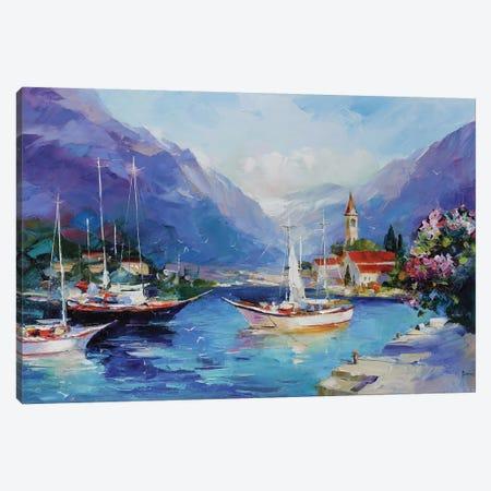 Bright Crystal Canvas Print #TAY119} by Tatyana Yabloed Art Print