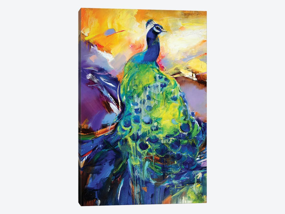 Sing Me To Sleep by Tatyana Yabloed 1-piece Canvas Print