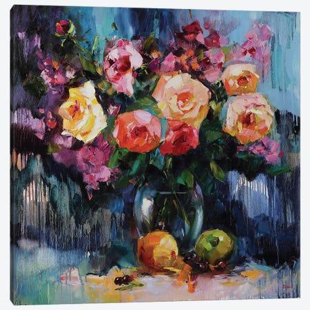 Blossom Festival Canvas Print #TAY126} by Tatyana Yabloed Canvas Art Print