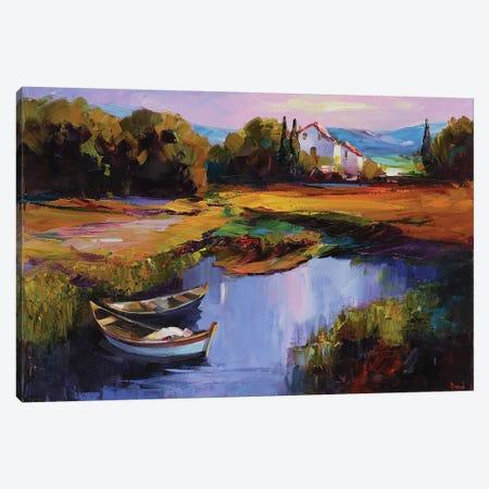 Velvet Night Canvas Print #TAY127} by Tatyana Yabloed Art Print