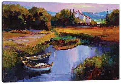 Velvet Night Canvas Art Print