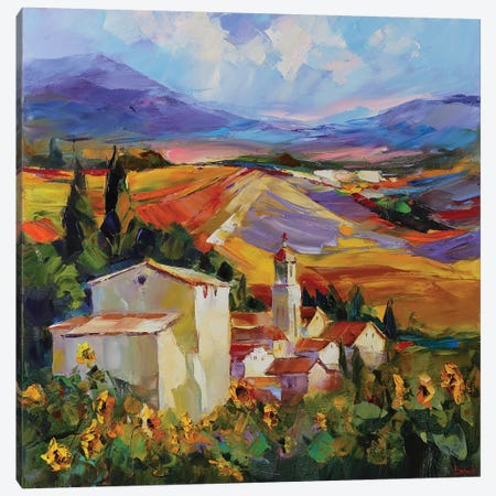 Tuscan Love Story Canvas Print #TAY128} by Tatyana Yabloed Canvas Art