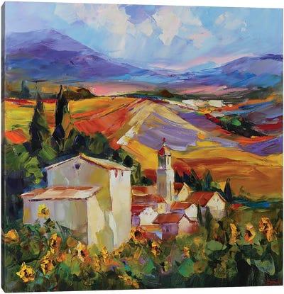 Tuscan Love Story Canvas Art Print
