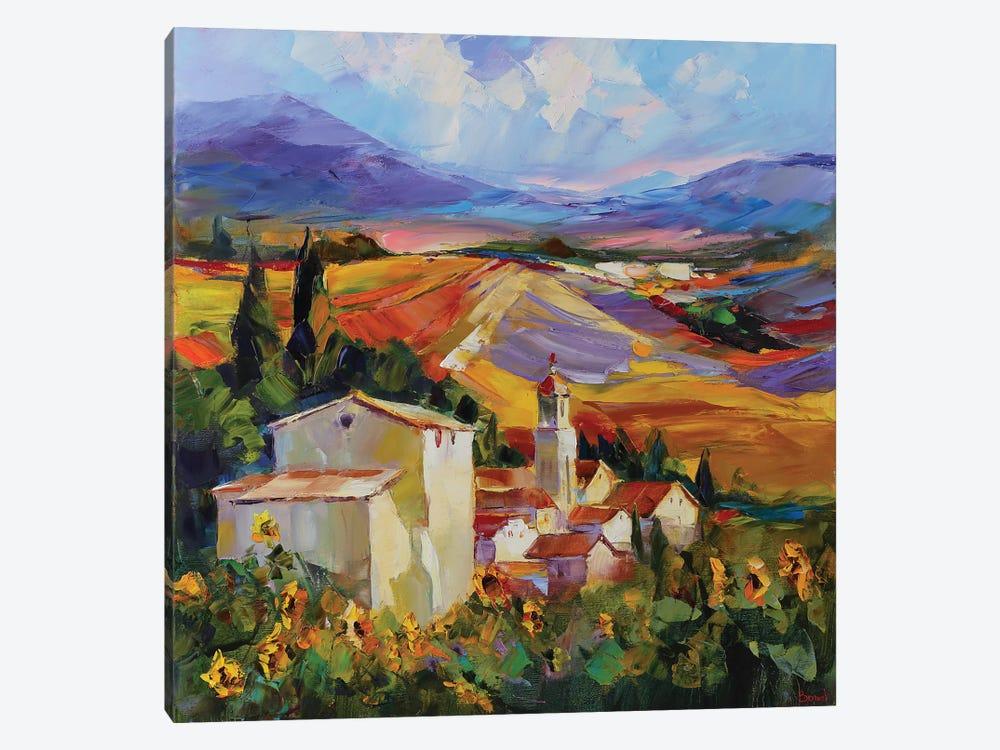 Tuscan Love Story by Tatyana Yabloed 1-piece Art Print