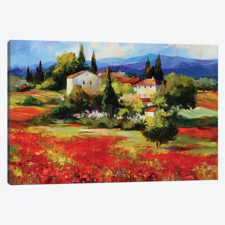Flame Canvas Print #TAY138} by Tatyana Yabloed Canvas Print