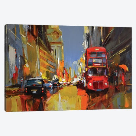 The Amber Canvas Print #TAY13} by Tatyana Yabloed Canvas Art